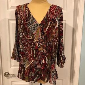 Beautiful, like new, Dress Barn Woman Blouse 3X